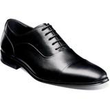 Florsheim Men's Jetson Cap Toe Oxford - Black - 14250-001 - Angle