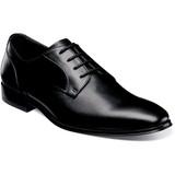 Florsheim Men's Jetson Plain Toe Oxford - Black - 14251-001 - Angle