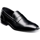 Florsheim Men's Jetson Moc Toe Penny Loafer - Black - 14252-001 - Angle