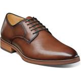 Florsheim Men's Blaze Plain Toe Oxford - Cognac - Angle