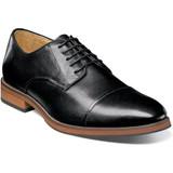 Florsheim Men's Blaze Cap Toe Oxford - Black - Angle