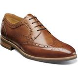 Florsheim Men's Uptown Wingtip Oxford - Cognac - Angle