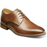 Florsheim Men's Uptown Plain Toe Oxford - Cognac  - 15172-221 - Angle