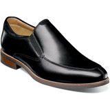 Florsheim Men's Uptown Moc Toe Slip-On - Black - 15187-001 - Angle