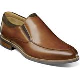 Florsheim Men's Uptown Moc Toe Slip-On - Cognac - 15187-221 - Angle