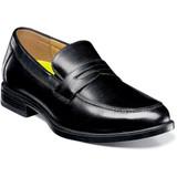 Florsheim Men's Midtown Moc Toe Penny Loafer - Black - 12159-001 - Angle