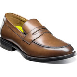 Florsheim Men's Midtown Moc Toe Penny Loafer - Cognac - 12159-221 - Angle