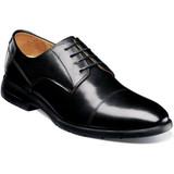 Florsheim Men's Westside Cap Toe Oxford - Black - Angle