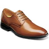 Florsheim Men's Westside Plain Toe Oxford - Cognac - Angle