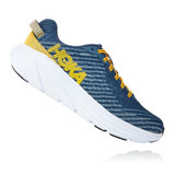 HOKA One One Men's Rincon - Majolica Blue / Lead - 1102874-MBLD - Profile