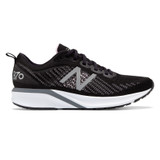 New Balance Women's 870v5 - Black / White / Oxygen Pink - W870BW5 - Profile