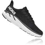 HOKA ONE ONE Women's Clifton 7 - Black / White - 1110509-BWHT - Angle