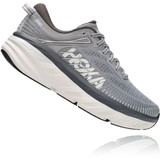 HOKA ONE ONE Men's Bondi 7 (Wide Width) - Wild Dove / Dark Shadow - 1110530-WDDS - Angle