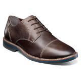 Nunn Bush Men's Pasadena Cap Toe Oxford - Brown - 84831-200 - Angle