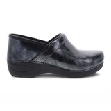 Dansko Women's XP 2.0 Clog - Pewter Marbled Patent  - 3950-930202 - Profile 1