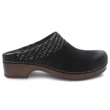 Dansko Women's Bev Clog - Black - 9432-107800 - Profile 1