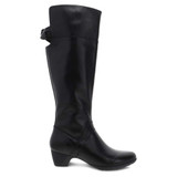 Dansko Women's Dori Tall Boot - Black - Profile