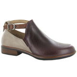 Naot Women's Kamsin Bootie - Bordeaux / Soft Stone / Soft Chestnut - 26042-RDE