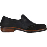 Naot Women's Angin - Black Leather and Nubuck - Profile
