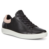ECCO Women's Soft 7 Street Sneaker - Black Rose Dust