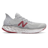 New Balance 1080v10 Men's Fresh Foam Running - Summer Fog with Neo Crimson & White - M1080G10 - Profile