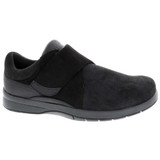 Drew Women's Moonwalk - Black Stretch Leather - 14100-19 - Profile
