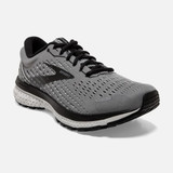 Brooks Men's Ghost 13 - Grey / Black - Angle