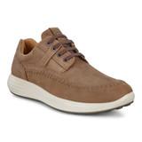 ECCO Men's Soft 7 Runner Seawalker Sneaker - Cocoa 460714-02482 - Angle