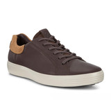 Ecco Men's Soft 7 Street Sneaker - Mocha with Cashmere - 470054-52314 - Angle