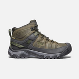 KEEN Men's Targhee III Waterproof Mid - Dark Olive / Black - 1024051 - Profile
