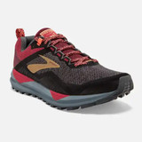 Brooks Women's Cascadia 14 - Black / Rumba Red - 120304-042 - Main