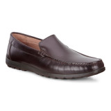 ECCO Men's Dip Moc - Coffee - 660404-01072 - Angle