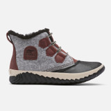 Sorel Women's Out 'N About Plus Boot - Redwood with Felt - 1934111-628 - Profile