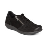 Aetrex Women's Roxy Arch Support Casual Sneaker - Black - DM320 - Angle