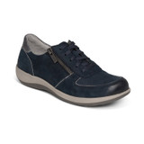 Aetrex Women's Roxy Arch Support Casual Sneaker - Navy - DM325 - Angle