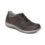 Aetrex Women's Roxy Arch Support Casual Sneaker - Charcoal - DM326 - Angle