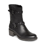 Aetrex Women's Nora Arch Support Weatherproof Boot - Black - Angle