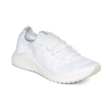 Aetrex Women's Carly Arch Support Sneaker - White - Angle