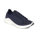 Aetrex Women's Carly Arch Support Sneaker - Navy - AS105 - Profile
