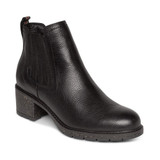 Aetrex Women's Willow Arch Support Weatherproof Boot - Black - Angle