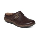Aetrex Women's Libby Comfort Clog - Brown - DM202 - Angle