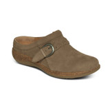 Aetrex Women's Libby Comfort Clog - Taupe - DM206 - Angle