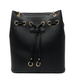 Sondra Roberts Bucket Shopper Handbag - Black - Front