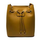 Sondra Roberts Bucket Shopper Handbag - Mustard - Front