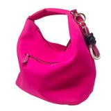 Sondra Roberts Hobo Twist Bag - Fuchsia - Front