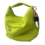 Sondra Roberts Hobo Twist Bag - Lime - Front
