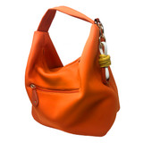 Sondra Roberts Hobo Twist Bag - Orange - Front