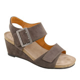 Taos Footwear Women's High Society - Dark Grey Suede - HIS-7220-DKGR - Angle