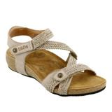 Taos Footwear Women's Trulie - Stone - TRU-16406-STN - Angle