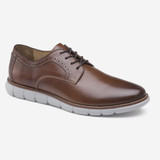 Johnston & Murphy Men's Holden Plain Toe - Mahogany Full Grain - 20-8373 - Main
